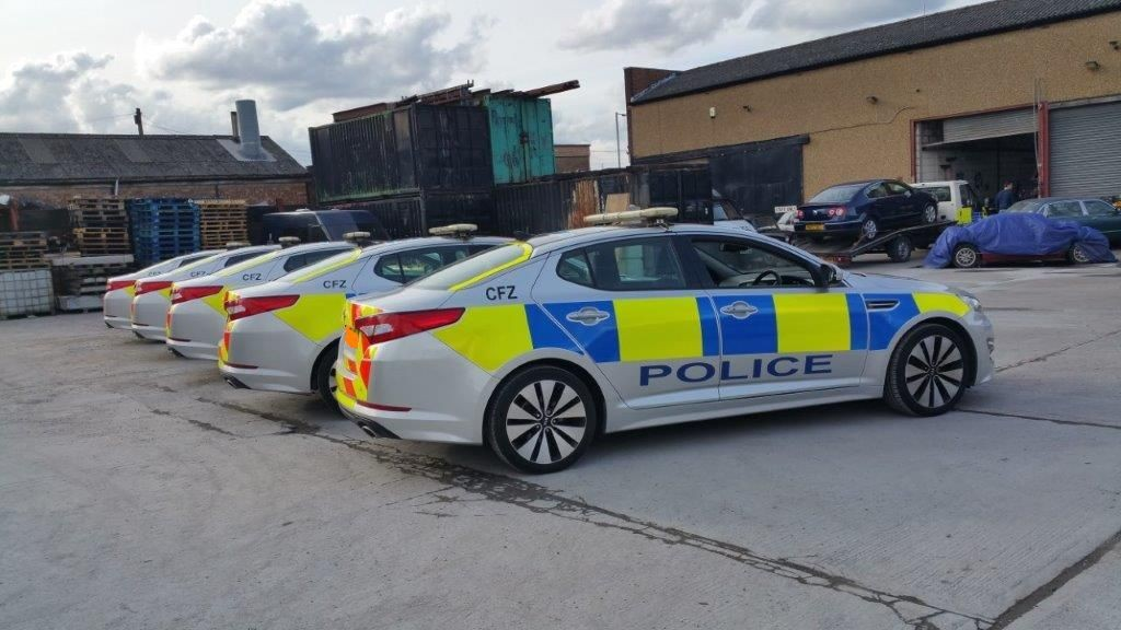 Kia Optima Police Cars Available For Filming