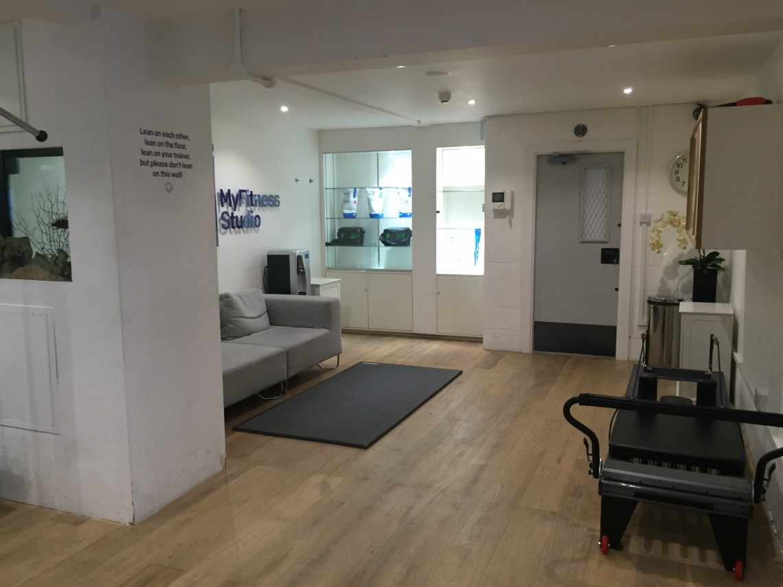 Central london urban private gym available to hire