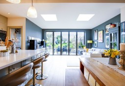 Kitchen With Table, Bi-Fold Doors