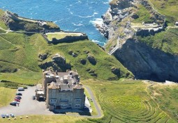 Castle Film Location With Spectacular Coastal Views