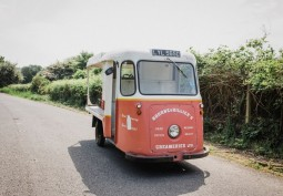 Retro Milk Float For Filming