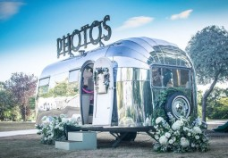 Chrome Caravan Available For Photo Shoots And Film