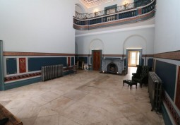 Hall, Fireplace, Hall (Gallery)