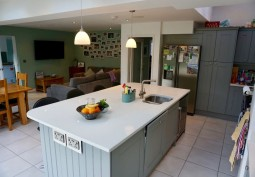 Kitchen, Kitchen (With Island),Kitchen (Coloured units),Kitchen (Modern),Open-plan