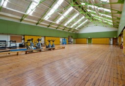Sports Hall With Classrooms And Bar For Filming