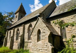 Welsh Church On Country Estate For Filming