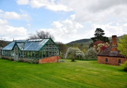 Outbuildings, Greenhouse, Formal Gardens