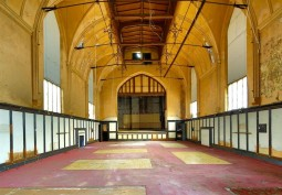 Music Hall With Distressed Interior For Filming