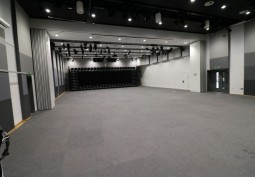 Blackout Rehearsal Space For Filming