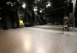 Dark Rehearsal Room For Filming