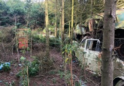 Car Graveyard Available For Filming And Photo Shoots