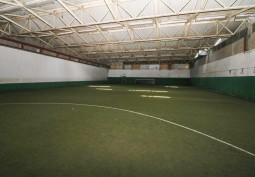 Indoor Football Pitch For Filming