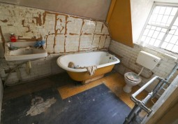Bathroom, Dilapidated, Bathroom (Roll Top)