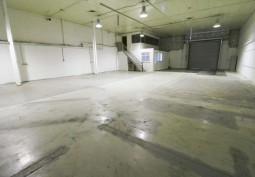 Empty White Warehouse For Filming