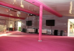 Pink Rehearsal Room For Filming