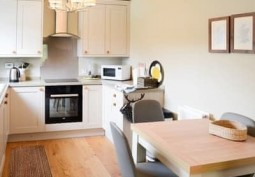 Kitchen, Kitchen With Table