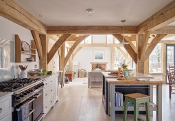 Oak Framed Detached House For Filming