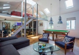 Open Plan London Mews House For Filming