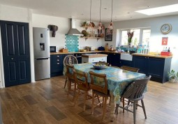 Diningroom, Kitchen (Coloured units),Kitchen With Table