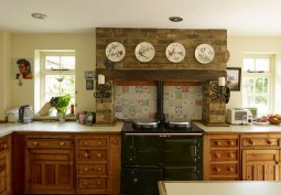 Kitchen (Wooden Units),Kitchen With Table
