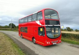 Former London Double Decker Bus For Filming