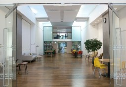 Office And Communal Space For Filming