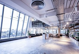 Event Space With Skyline Views Of London For Filming