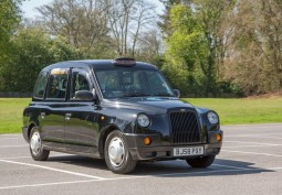 Traditional London Black Cab For Filming