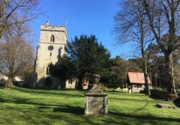 14th Century Church With Graveyard For Filming