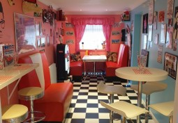 American Diner In Sussex For Filming