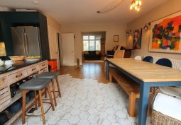 Kitchen With Table, Open-plan