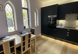 Kitchen (Coloured units),Kitchen With Table, Kitchen (Electric/Induction Hob)