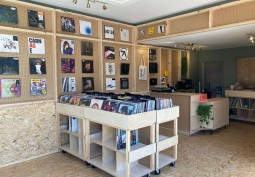 Modern Record Shop For Filming