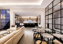 Livingroom, Kitchen With Table, Open-plan